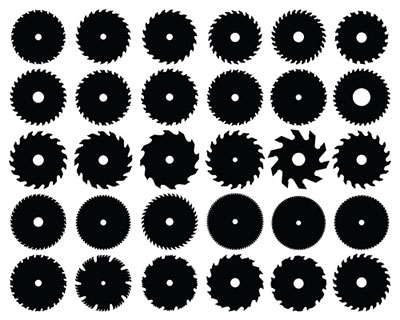 Saw Blade Clipart