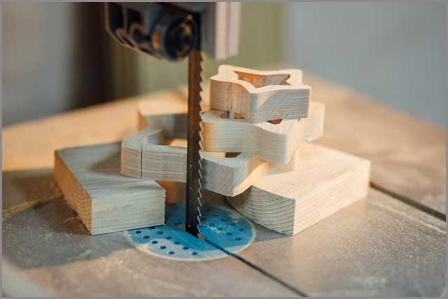Wooden toys made with the band saw