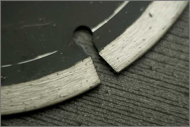 Image showing and Illustrating segmented saw blade in particular.