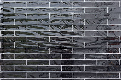 A picture of a black tile
