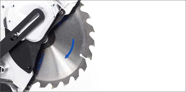 a mitre saw blade