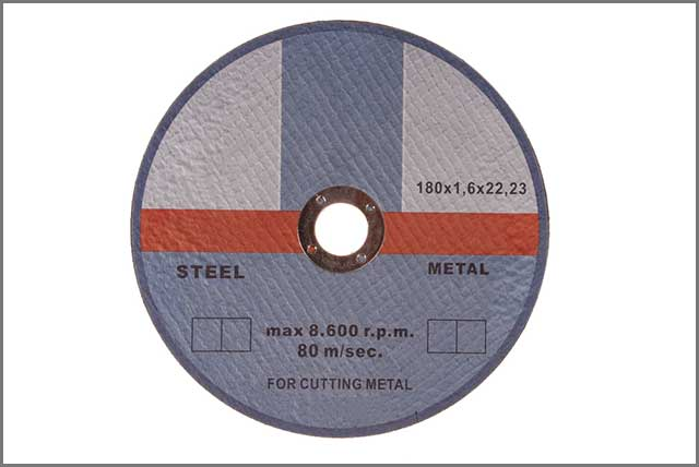 a circular saw blade for cutting ferrous metals and steel