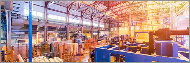 Production facility of a manufacturer
