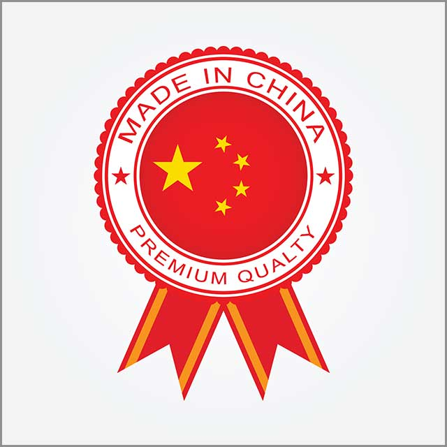 Made in China template design