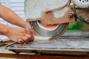 Tile Saw and Blades