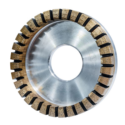 Grinding wheel for diamond processing