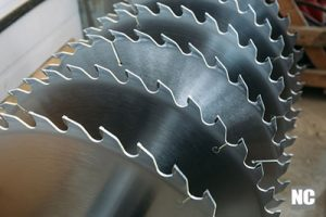 An image of a cold saw blade used on metals.