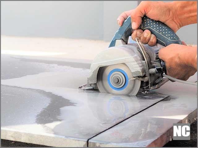 a slab concrete countertop notche,For cutting marble tile