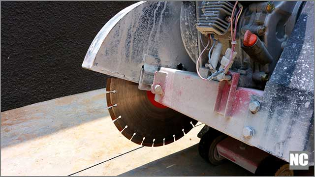 Electric cutting machines for asphalt blades have different strengths