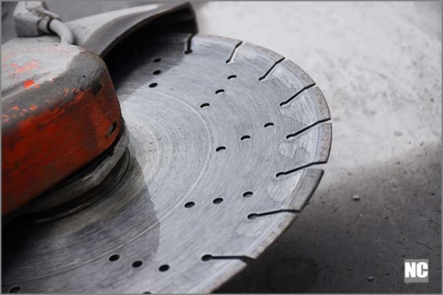 The powerful and sharp blades make it easy to cut through concrete and other harsh surfaces