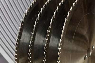 Picture showing carbide slitting saw