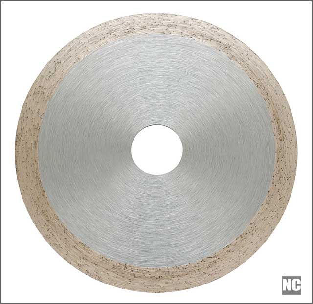 An abrasive disc for metal cutting