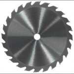 Carbide slitting saw blade