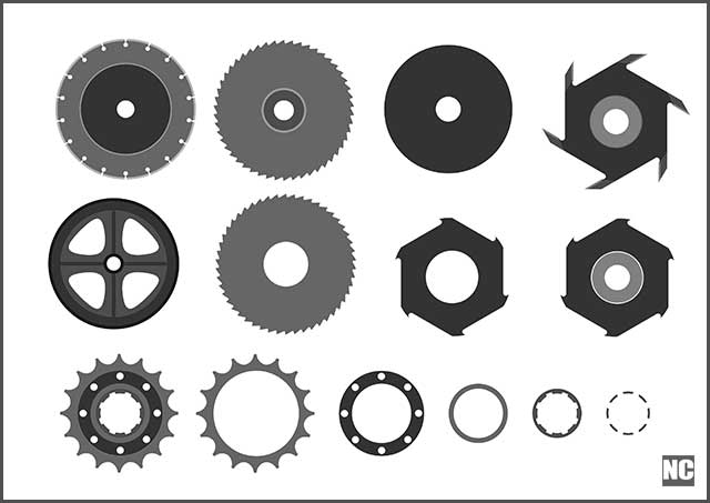 Different Types of Wheel Shapes.