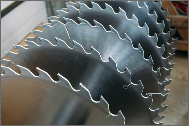Circular saw blade with large tooth size