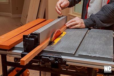 Carpenter operating table