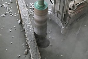 diamond core drill bit wet Core Drilling Done with cold water