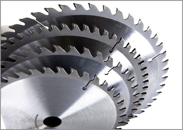 A Set of Cold cut saw blade