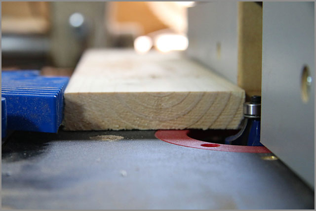 feather board and router table