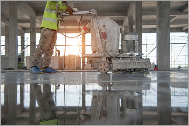 polishing concrete